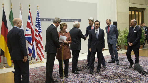 Iran and the P5+1 signed the interim deal on Iran's nuclear program on Nov. 24, 2013.