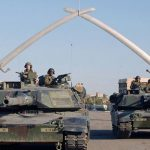 U.S. tanks in Baghdad (Wikimedia Commons)