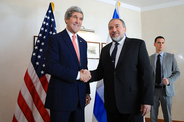 Kerry-Lieberman-Israel