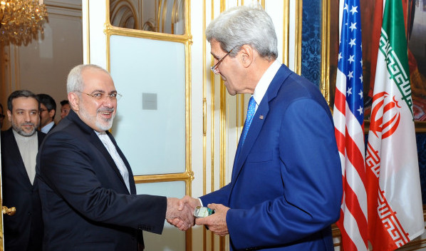 Kerry_Zarif_US_Iran_Flags
