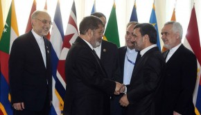 NAM-Summit-Morsi-Meets-Ahmadinejad