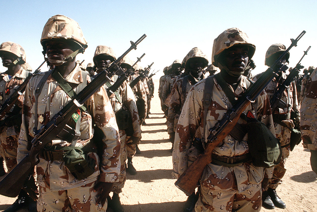 Nigerien_soldiers_during_Gulf_War