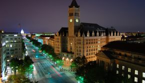 pennsylvania_ave_-_old_post_office_to_the_capitol_at_night