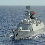Chinese frigate (Wikimedia Commons)