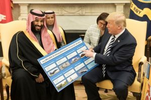 Mohammad bin Salman and Donald Trump (White House)