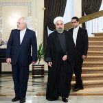 Javad Zarif and Hassan Rouhani (Wikimedia Commons)