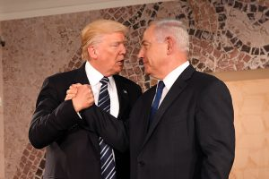 Donald Trump and Benjamin Netanyahu (Wikimedia Commons)