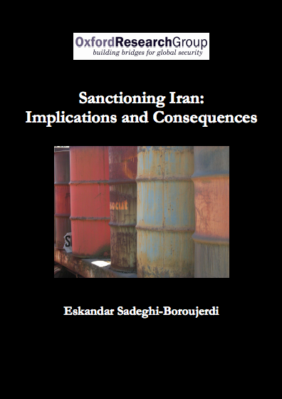 Sanctioning Iran: Implications and Consequences