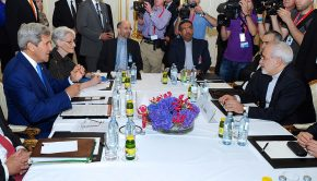 Secretary_Kerry,_Iranian_Foreign_Minister_Zarif_Sit_Down_For_Second_Day_of_Nuclear_Talks_in_Vienna