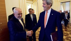 Secretary_Kerry_and_Iranian_Foreign_Minister_Zarif_Share_a_Laugh_Before_Their_Meeting_in_Vienna_(27041312796)