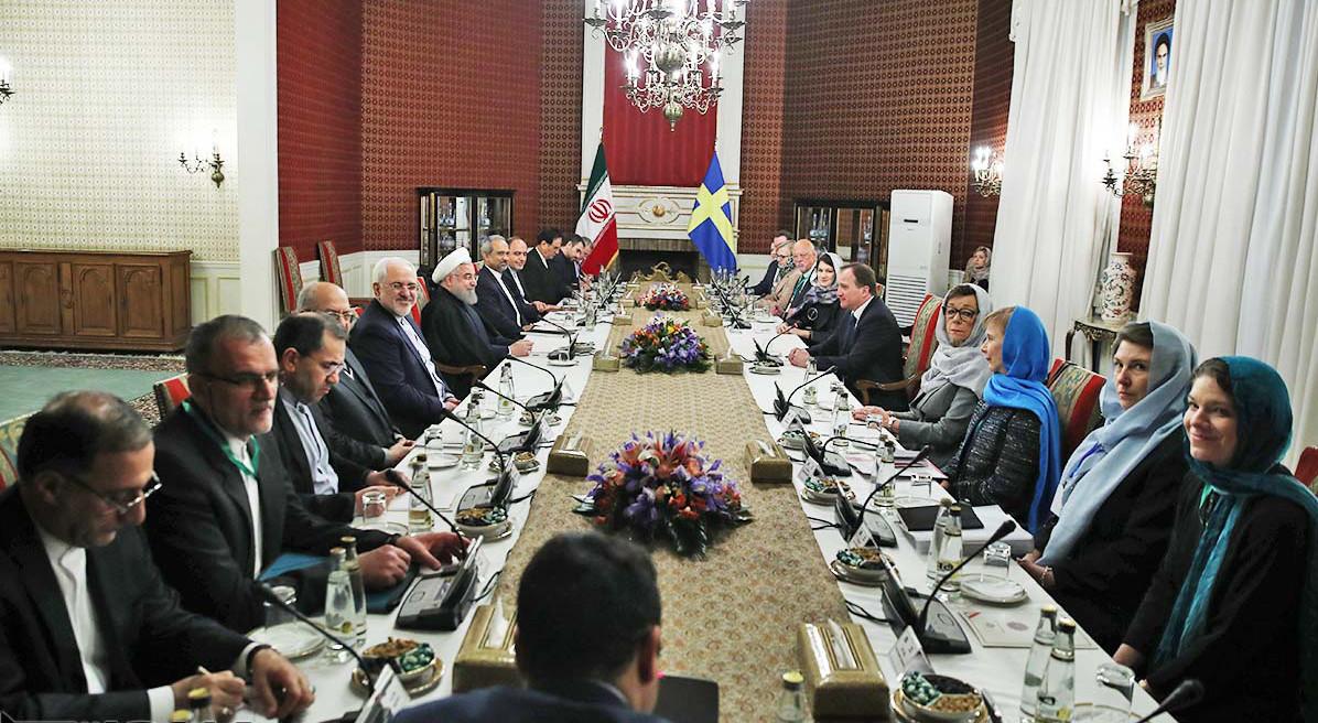 Sweden-Iran-High-Level-Meeting-in-Tehran