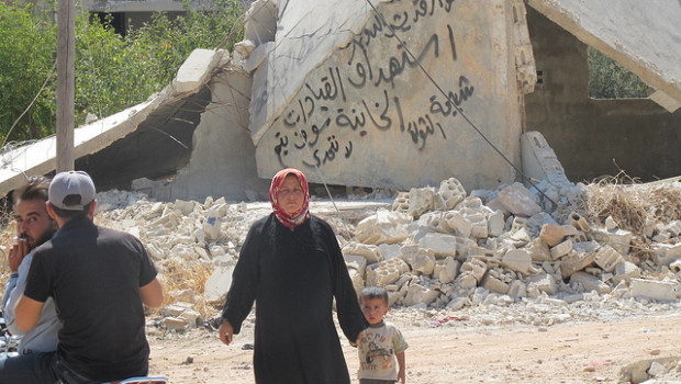 Syria-IPS-Woman-Child