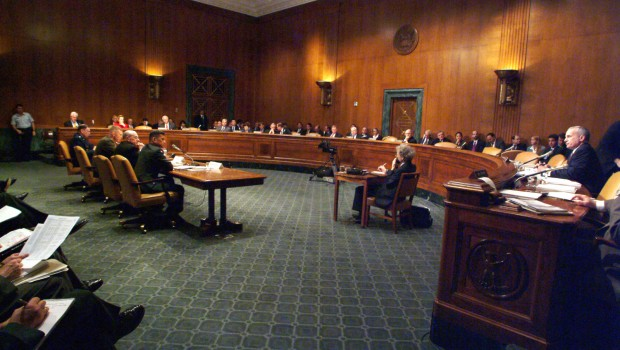 US_Navy_030225-N-2383B-616_Senate_Armed_Service_Committee_2004_DOD_budget_hearing