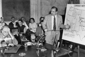 Joseph Welch and Joseph McCarthy (McCarthy-Army hearings, June 9, 1954)