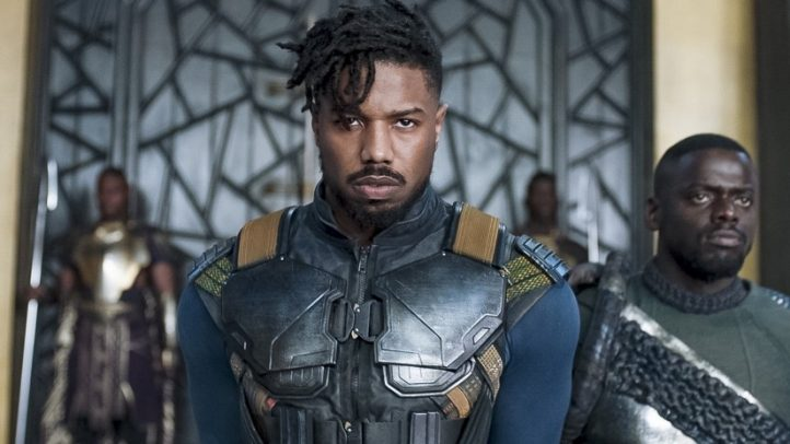 Erik Killmonger, played by Michael B. Jordan in Black Panther