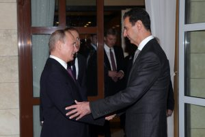 Vladimir Putin and Bashar al-Assad
