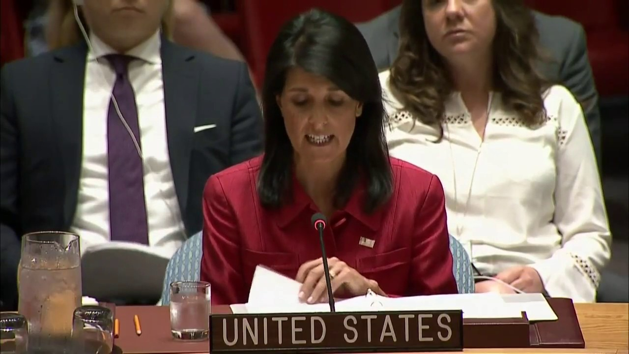 haley at un