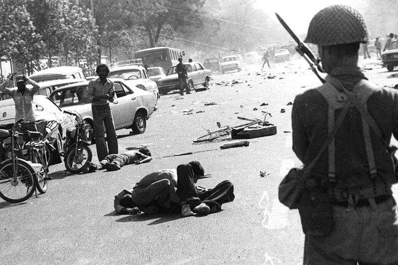 Protestor casualties in lead-up to the Iranian Revolution (Wikimedia Commons)