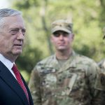 Secretary of Defense Jim Mattis (DOD photo by Air Force Tech. Sgt. Brigitte N. Brantley)