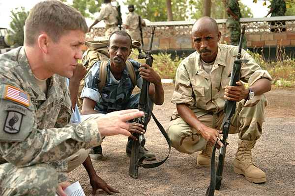 U.S. military advisor in Djibouti (AFRICOM)