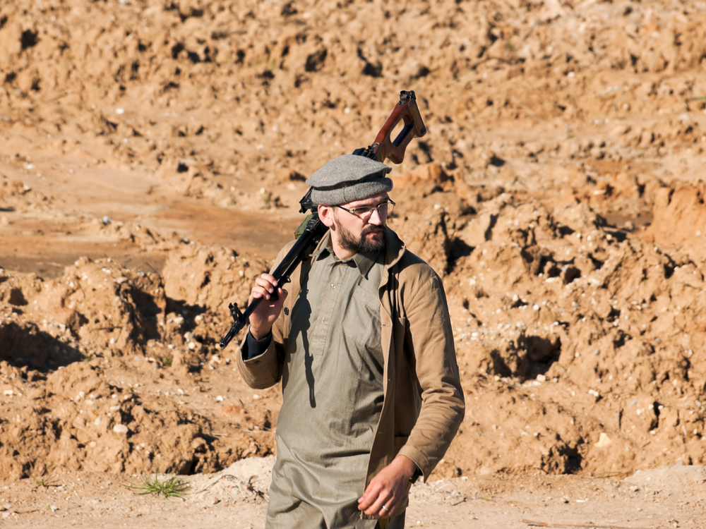 Afghan gunman near Jalalabad (DenMan80 via  Shutterstock)