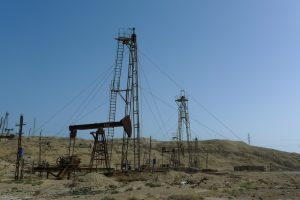 Oil fields near Baku (Juraj Kamenicky via Shutterstock)
