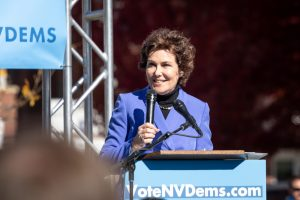 Jacky Rosen picked up a Senate seat for the Democratic Party in Nevada in the midterm elections (BestStockFoto via Shutterstock)