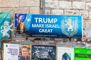 Billboard in Jeruslame (NOWAK LUKASZ via Shutterstock)