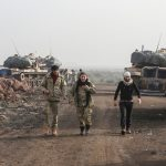 Turkish and Free Syrian Army forces in Afrin, February 2018 (Shutterstock.com)