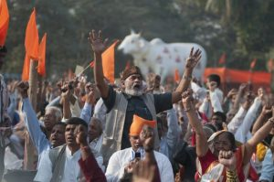 Hindu nationalists rally in Calcutta (Shutterstock)