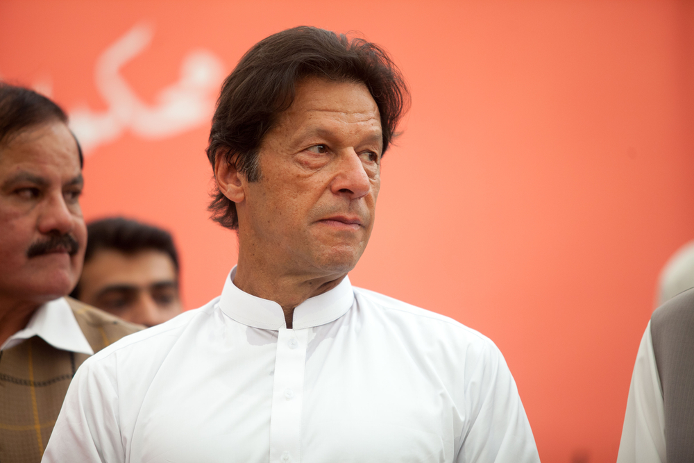 Photo of Imran Khan by Awais khan via Shutterstock