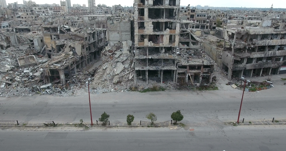 The Syrian city of Homs (Shutterstock)