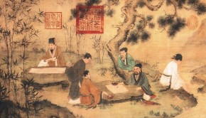 six-refined-scholars-chinese-painting