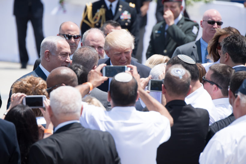 Donald Trump in Israel (White House)