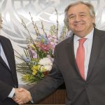 Antonio Guterres and Martin Griffiths (UN)