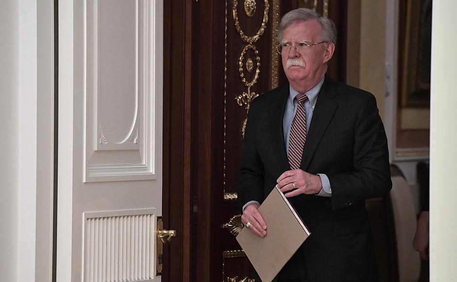 John Bolton in Russia